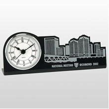 Custom Replica Silver Single Clock
