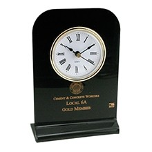US Made Acrylic Desk Clock