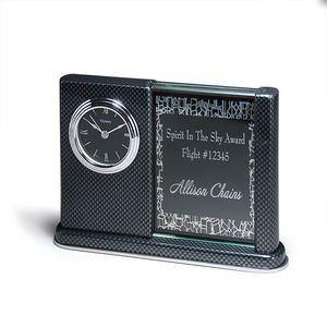 Carbon Fiber Desk Clock