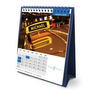 Flip Calendar w/Name Personalization (Tall)