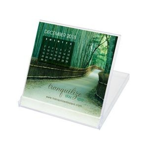 Jewel Case Calendar w/Custom Photos (Compact)