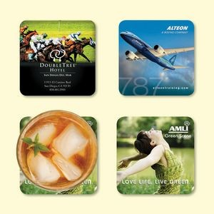 "Origin'L Fabric® 3.6""x3.6""x1/16"" Antimicrobial Coaster"
