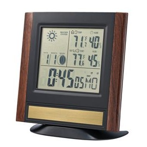Bulova Forecaster Weather Station Desk or Wall Clock